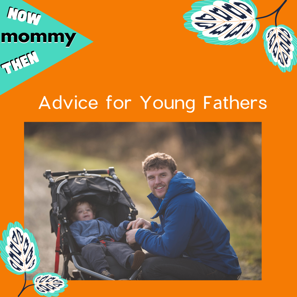 Advice for Young Fathers Podcast Cover.
