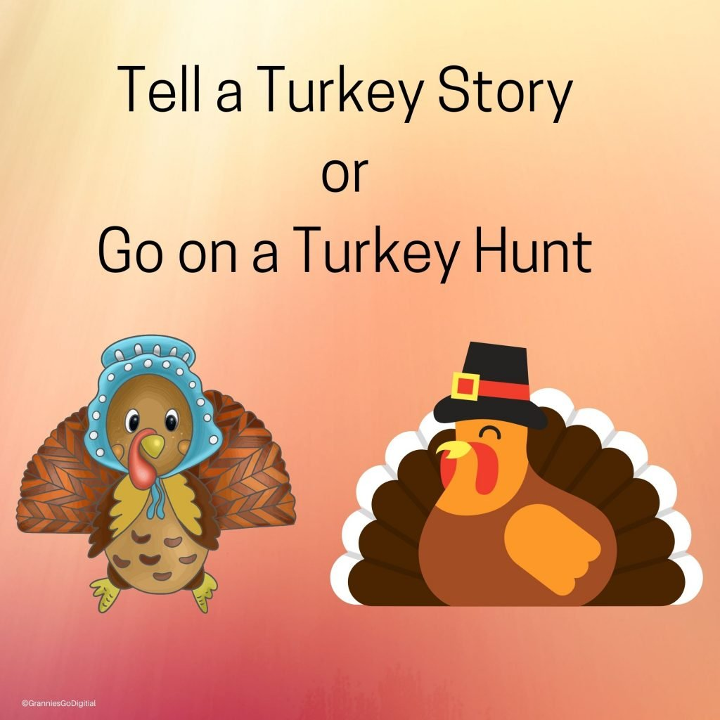 We have turkey printable cards for playing games with the grandchildren. Here is Tony and Tonya turkey.